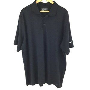 Nike Golf Tour Performance Polo Shirt Men 2XL Blac